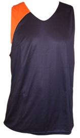 Bars Mens Basketball Shirt Dark Blue/Orange 177 L