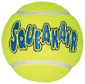 Rotaļlieta sunim Kong Air Kong Squeaker Tennis Ball Medium, 3 gab.