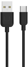 Usams U-Turn USB To USB Type-C Cable 1m Black