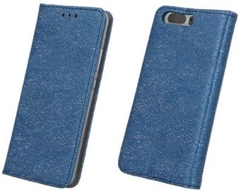 Forever Glitter Shine Book Case For Huawei P10 Lite Dark Blue