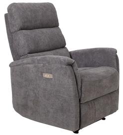 Atzveltnes krēsls Home4you Barclay, pelēka, 79x86x105 cm