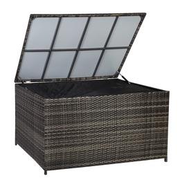 Home4you Wicker Pillow Box 140x80x65cm Dark Brown