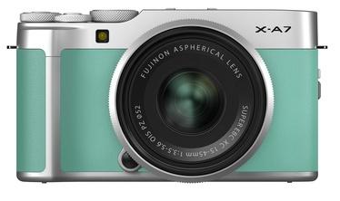 Fujifilm X-A7 + XC 15-45mm F3.5-5.6 OIS PZ Mint Green
