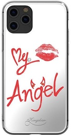 Kingxbar Angel Mirror Back Case For Apple iPhone 11 Pro Max Transparent