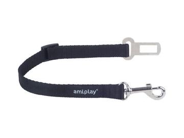 Автомобильный ремень безопасности Amiplay AmiTravel Safety-Belt Leash M 35x45x2cm Black