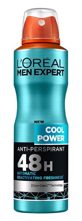 Дезодорант для мужчин L´Oreal Paris Men Expert Cool Power, 150 мл