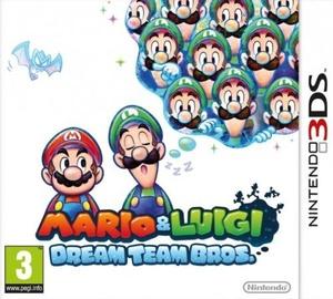 Mario And Luigi: Dream Team Bros. 3DS