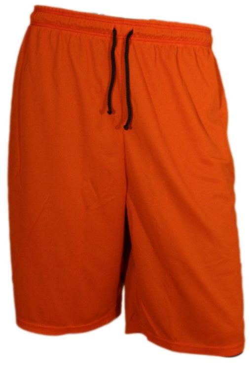 Шорты Bars Mens Basketball Shorts Dark Blue/Orange 178 M