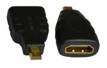 Brackton Adapter HDMI-micro to HDMI Black