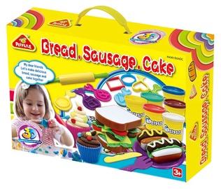 Rotaļlieta modelīns Peipeile Bread Sausage Cake 3245A