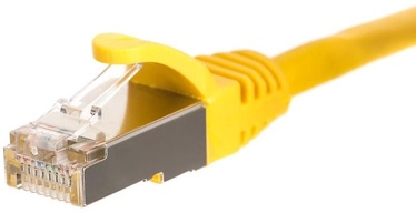 Netrack CAT 5e FTP/STP Patch Cable Yellow 0.5m