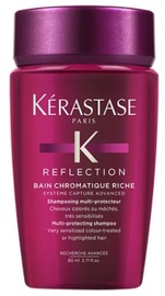 Šampūns Kerastase Reflection Bain Chromatique Riche Multi-Protecting, 80 ml