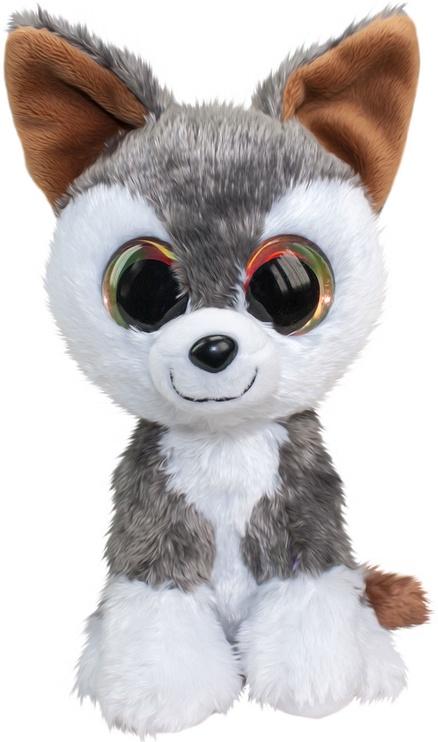 Mīkstā rotaļlieta Lumo Stars Wolf Hukka, 15 cm