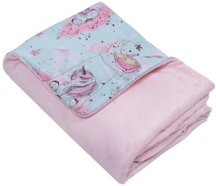Одеяло Mamandu Minky Blanket Unicorns On The Moon 75x100cm