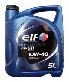 Motoreļļa Elf Evolution 700 STI 10W/40 Engine Oil 5l