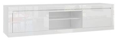 ТВ стол Tuckano Sparkle, белый, 1800x400x900 мм