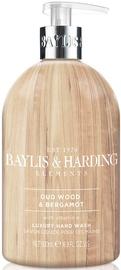 Baylis & Harding Elements Hand Wash 500ml Oud Wood/Bergamot