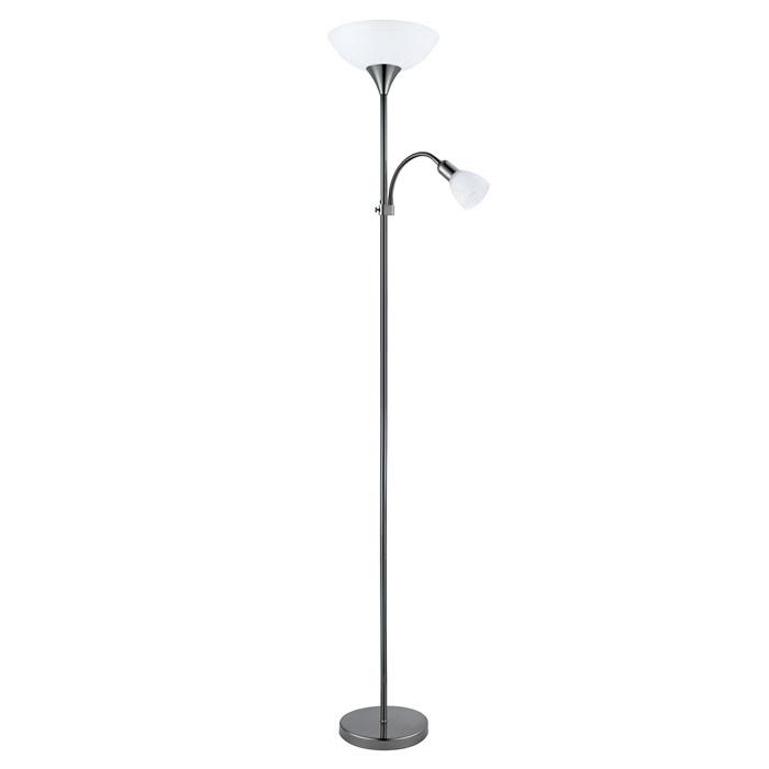 Lampa Eglo Up 93917, E27+E14 176x27,5cm, melna