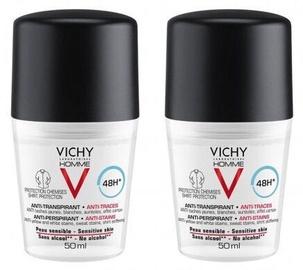 Vichy Homme 48h Deodorant 2pcs 2x50ml