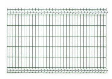 SN 3D Fence Segment Green 3D RAL6005 1230x4mm 2.5m