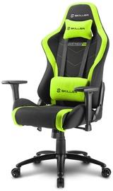 Spēļu krēsls Sharkoon Skiller SGS2 Black/Green