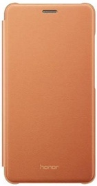 Huawei Flip Cover For Huawei Honor 7 Lite Brown