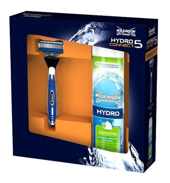 Wilkinson Sword Hydro Connect 5 Shaving System Kit 250ml
