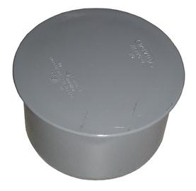 Kanalizācijas cauruļu noslēgtapa Wavin D110mm, PVC