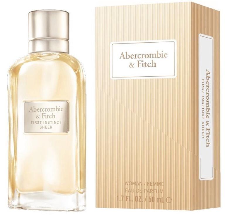 Smaržas Abercrombie & Fitch First Instinct Sheer 50ml EDP
