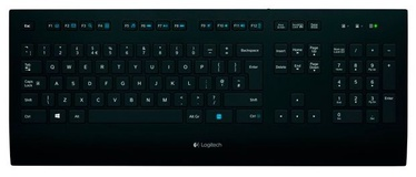 Logitech Corded Keyboard K280e RU Black