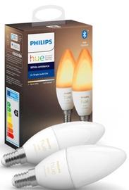 Philips Hue E14 2-Pack Bulb White Ambience