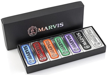 Marvis Toothpaste Flavour Collection In Black Box 7x25ml