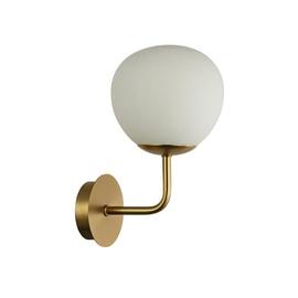 Gaismeklis Maytoni Erich MOD221-WL-01-G Wall Lamp Brass 40W E14