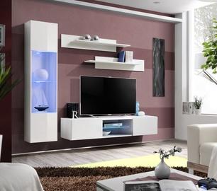 Dzīvojamās istabas mēbeļu komplekts ASM Fly R3 White