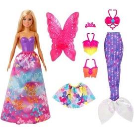 Кукла Mattel Barbie Dreamtopia 3-in-1 Fantasy Games GJK40