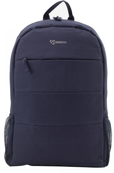 "Sbox Toronto Notebook Backpack 15.6"" Blue"