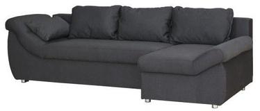 Stūra dīvāns Bodzio Rojal Graphite, labais, 258 x 145 x 73 cm