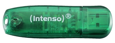 USB atmiņas kartes Intenso Rainbow Green, USB 2.0, 8 GB