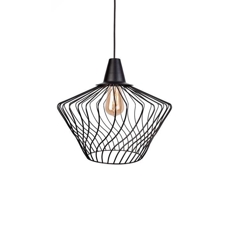 Gaismeklis Nowodvorski Wave 8858 Ceiling Light 60W E27 Black