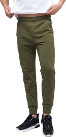 Audimas Cotton Slim Fit Sweatpants Olive Night 176/XL