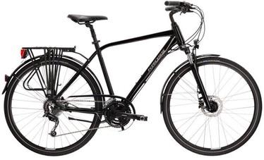 Велосипед Kross Trans 5.0, черный/серый, 28″