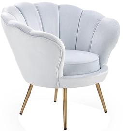 Halmar Amorino l Armchair Light Blue/Gold