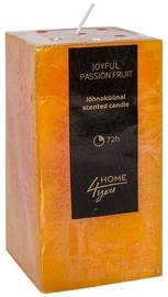 Home4you Candle Joyful Pasion Fruit 7.5x7.5xH15cm