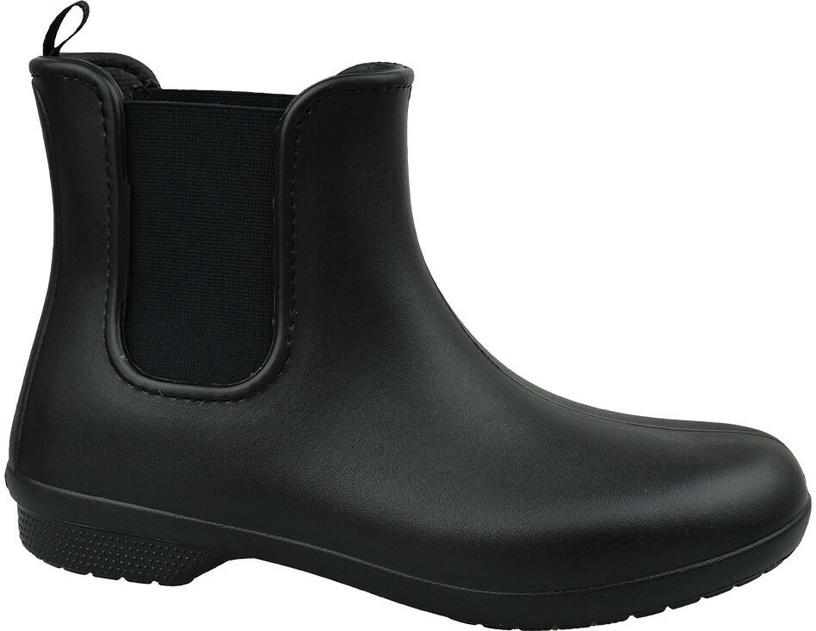 Kurpes Crocs Freesail Chelsea Womens Boots 204630-060 Black 36/37