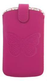 Bigben Butterfly Universal Case S Pink