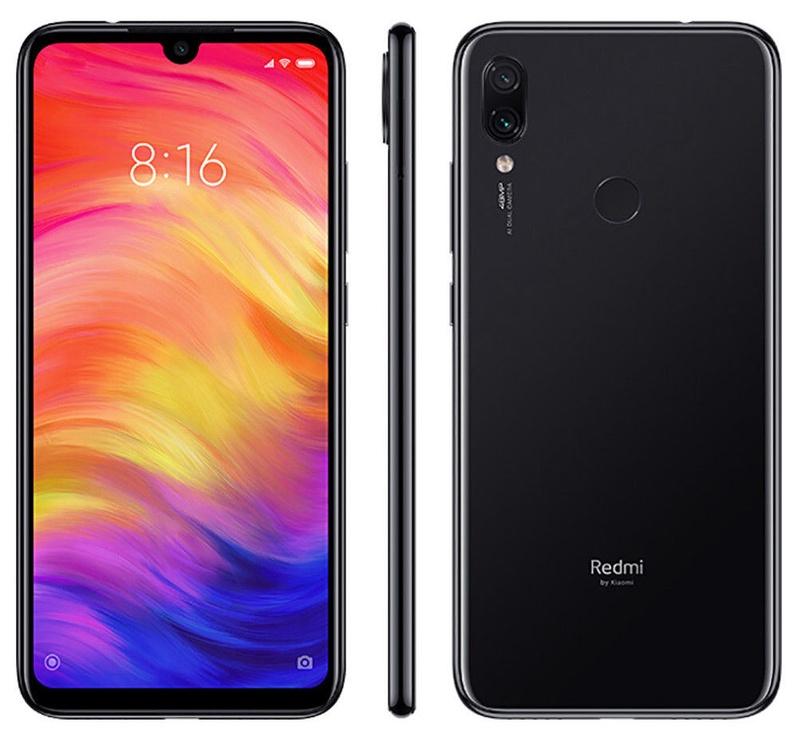 Xiaomi Redmi Note 7 4/64GB Dual Space Black