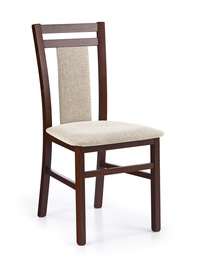 Ēdamistabas krēsls Halmar Hubert 8 Dark Walnut/Vila 2