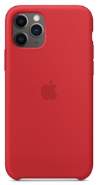 Apple Silicone Back Case For Apple iPhone 11 Pro Red