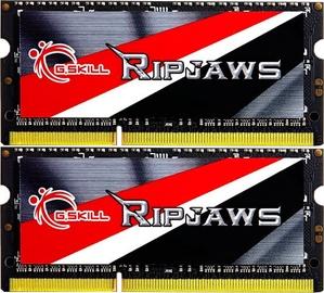 Operatīvā atmiņa (RAM) G.SKILL RipJaws F3-1600C9D-8GRSL DDR3L (SO-DIMM) 8 GB