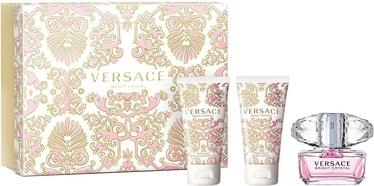 Komplekts sievietēm Versace Bright Crystal 50 ml EDT + 50 ml Body Lotion + 50 ml Shower Gel